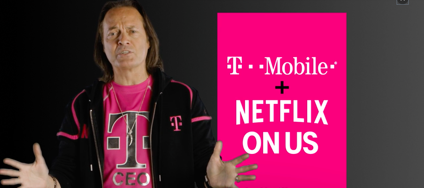 T-Mobile Throws In Free Netflix For Users With Family Plans