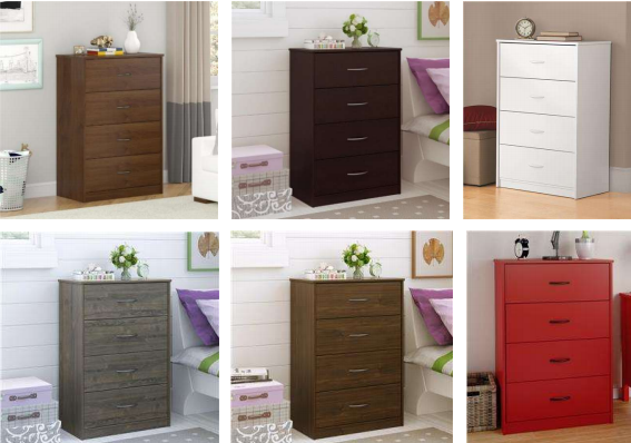 Inches In Height And 27 Wide The Chests Were Sold Six Colors Alder Black Forest White Weathered Oak Walnut Ruby Red At