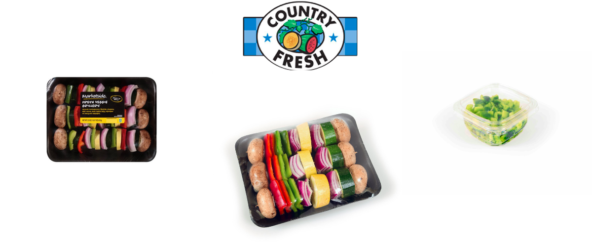 Country Fresh Diced Vegetables And Kabobs Recalled For Possible Listeria