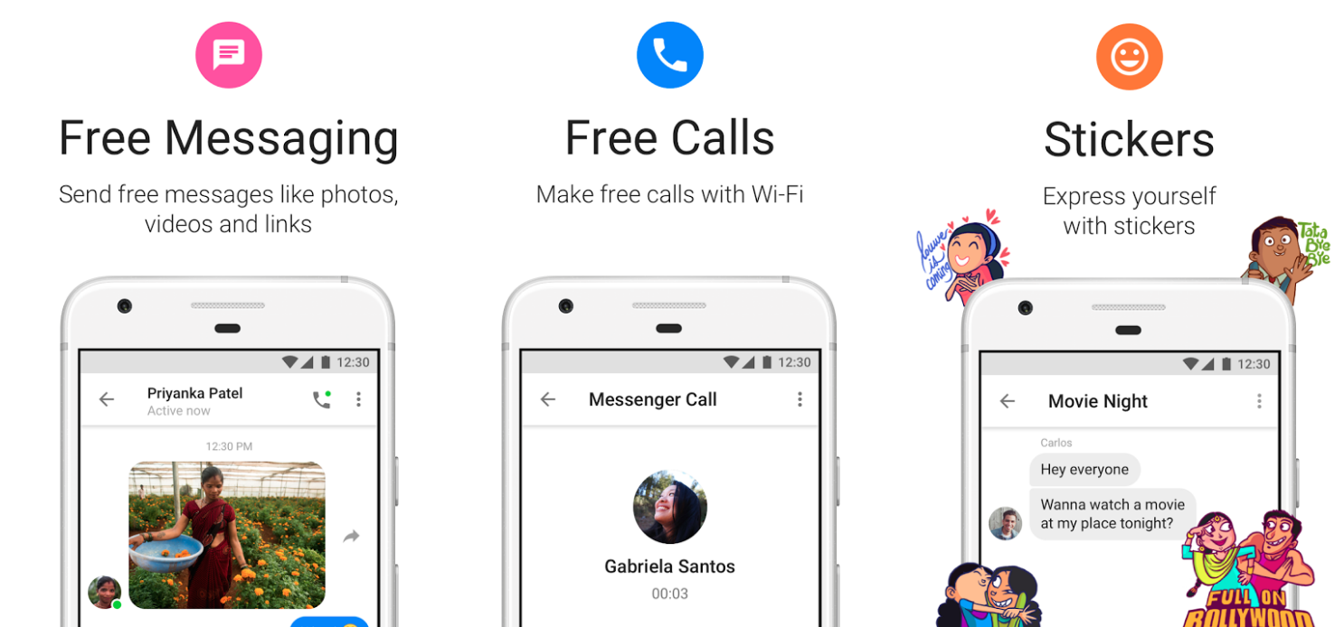 Facebook Launching Messenger Lite In The U.S. — But Only For Android Users