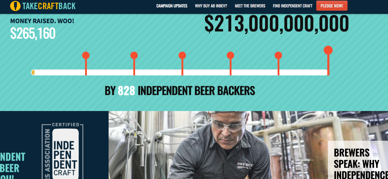 Craft Brewers Hoping To Crowdfund $213B To Buy Anheuser-Busch InBev