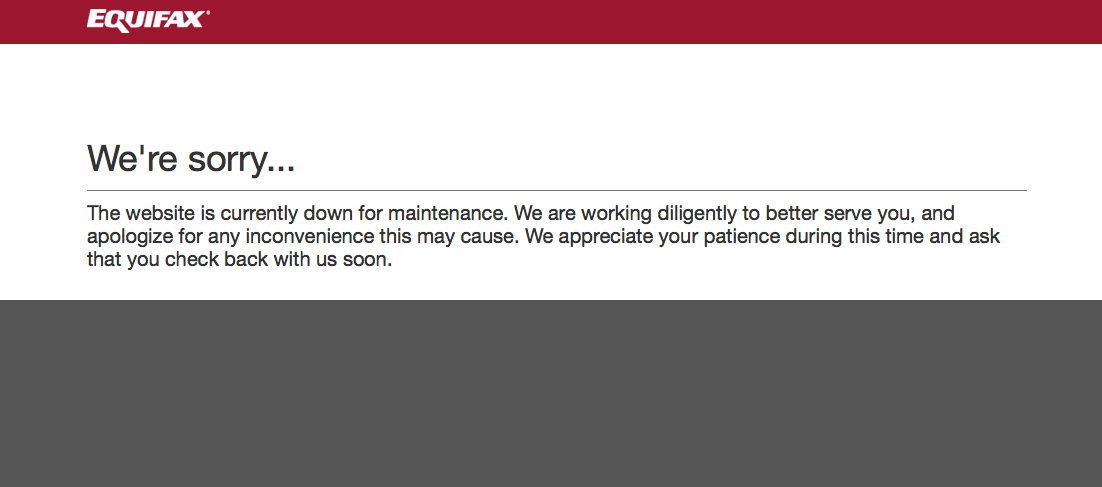 Equifax Takes Part Of Its Website Offline Over Concerns About Malware